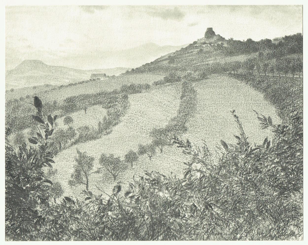 Richard Müller, Ruine Kamaik in Böhmen