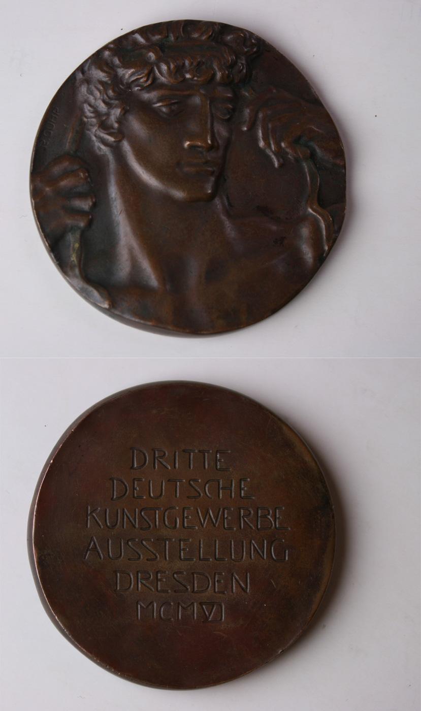 Medaille Richard Guhr