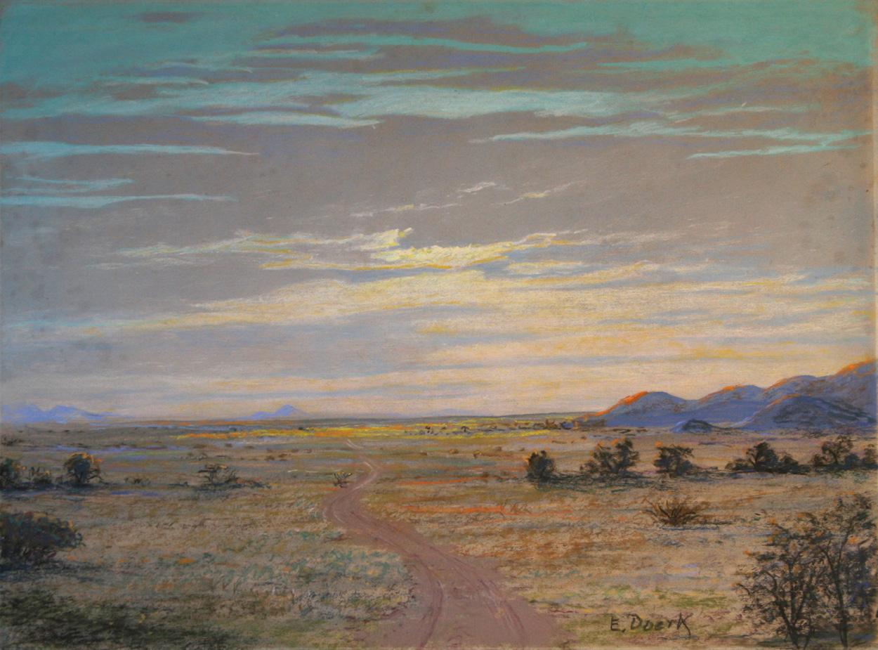 E. Doerk, Afrikanische Steppe