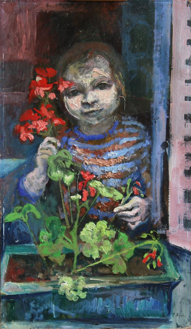 Erika Schade, Mädchen am Fenster