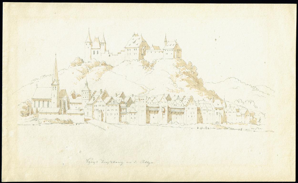 Carl Julius von Leypold, Schloß Trostberg an der Alz
