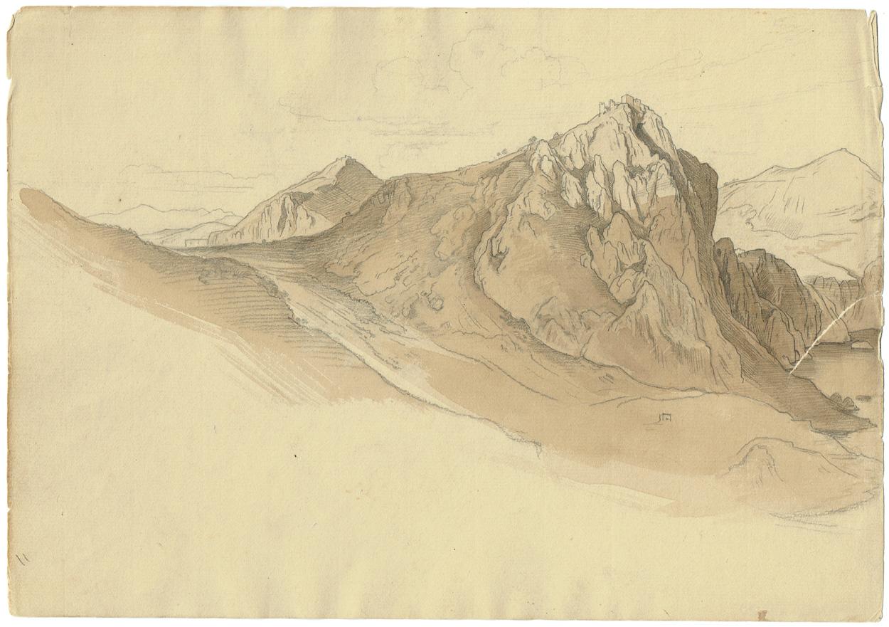 Woldemar Rau, Bergige Landschaft