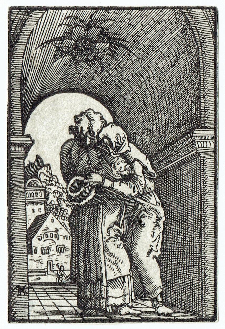 Albrecht Altdorfer, Die Begegnung von Joachim und Anna