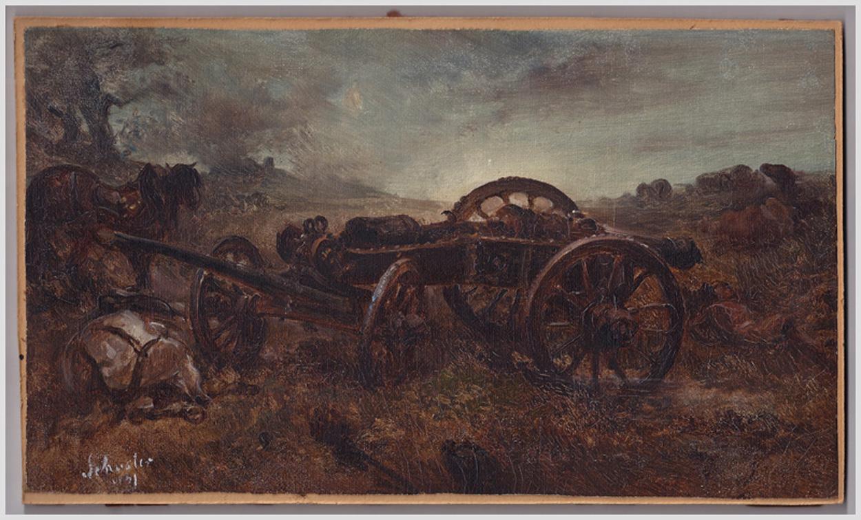 Ludwig Albrecht Schuster, Nach der Schlacht