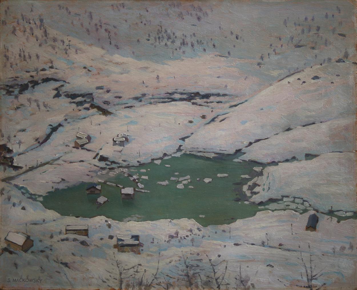 Siegfried Mackowsky, Winterlandschaft