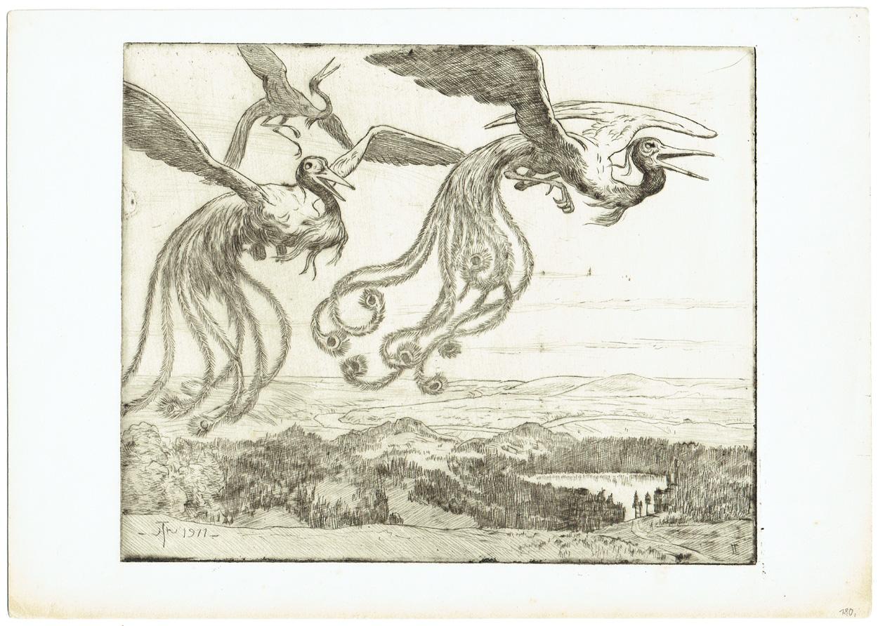 Hans Thoma, Wundervögel V