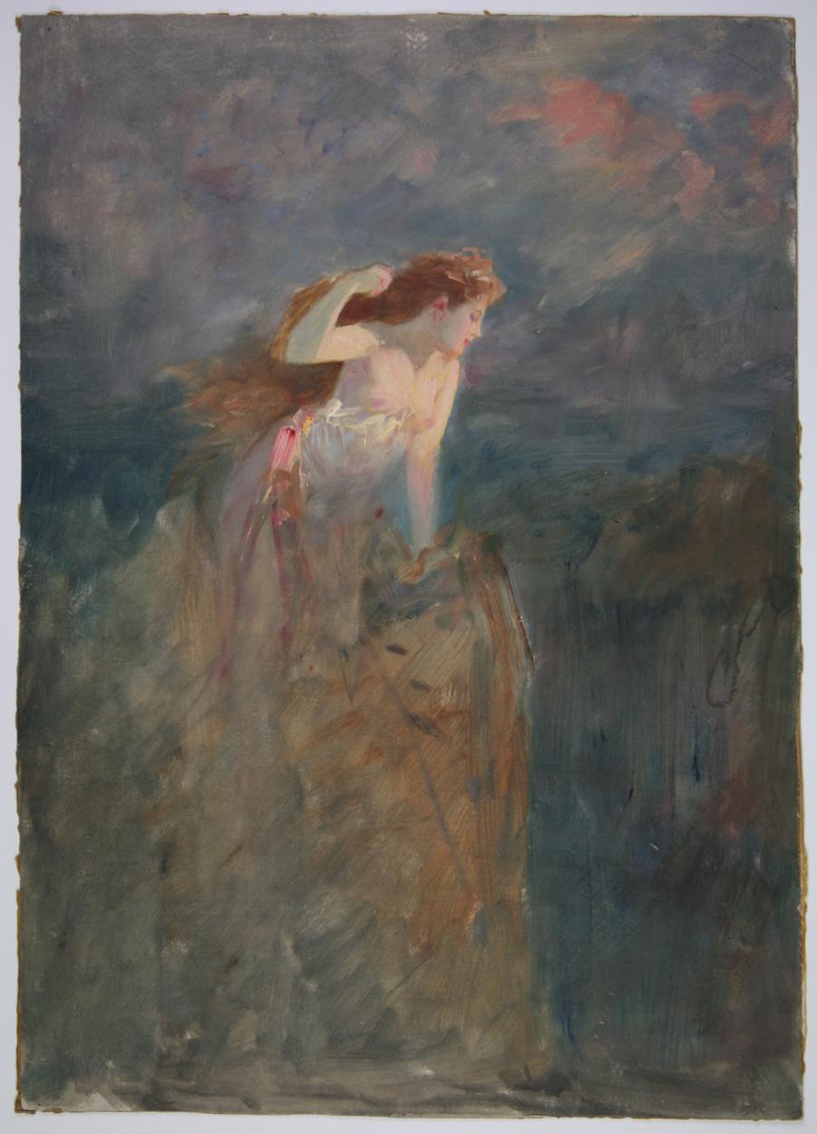 Albert Ritzberger zugeschrieben, Weiblicher Akt