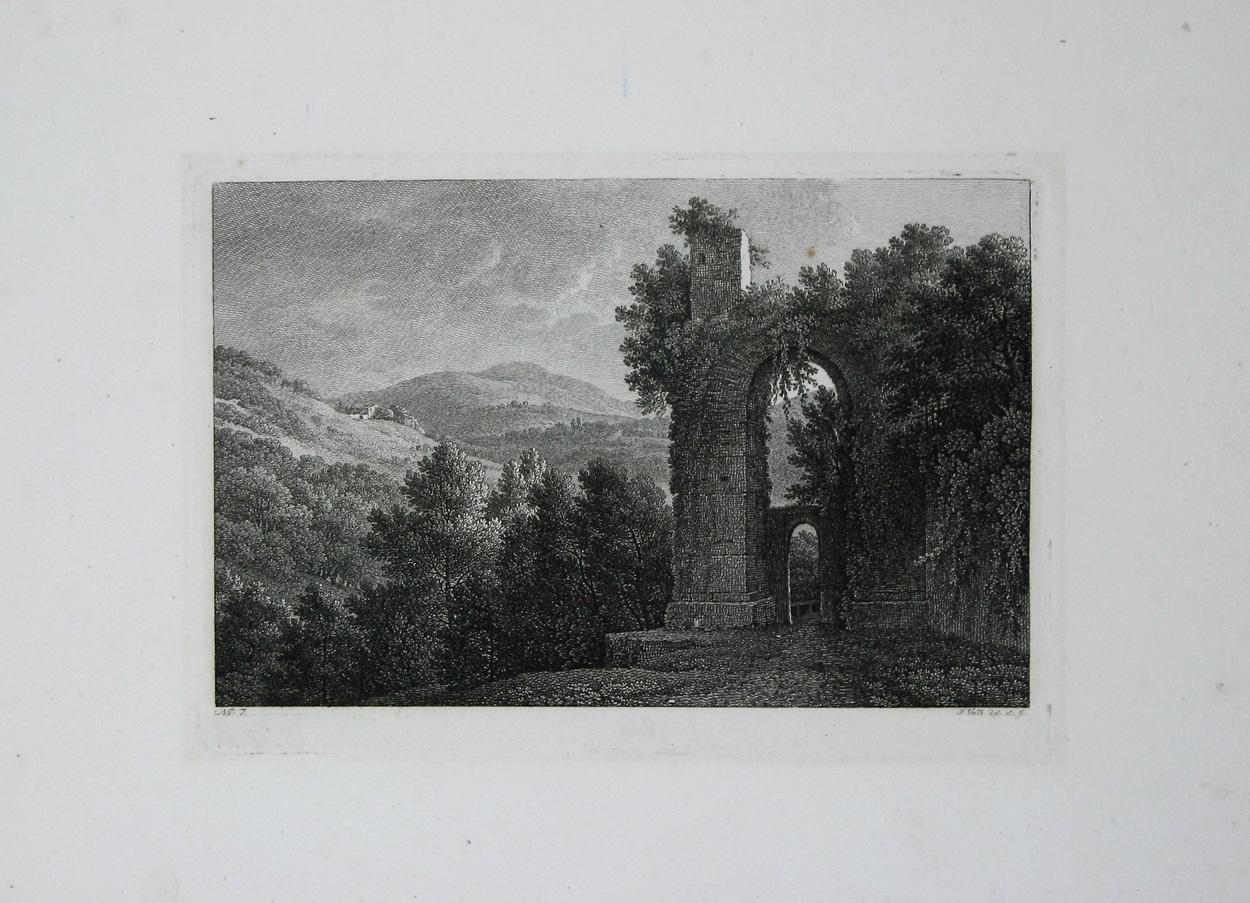 No. 7 - Ruine in der Nähe von Rom.