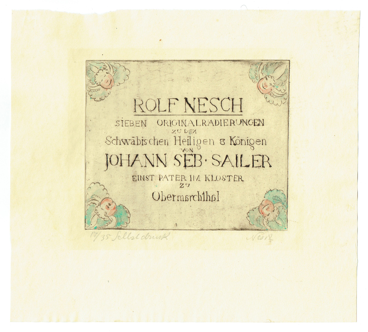 Rolf Nesch, Die schwäbischen Heiligen Drei Könige