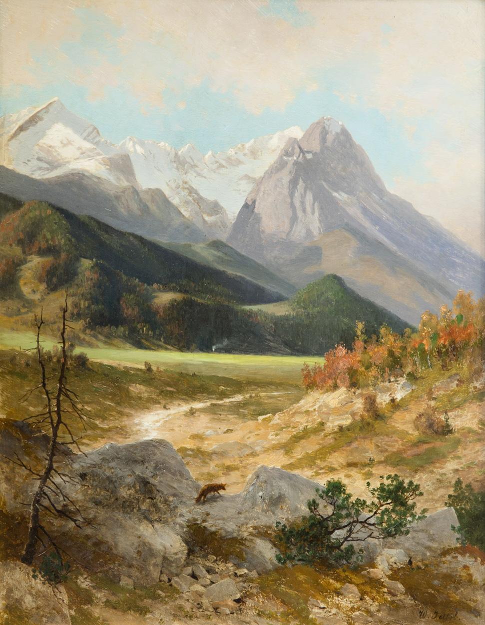 Wladimir Jettel, Alpenlandschaft