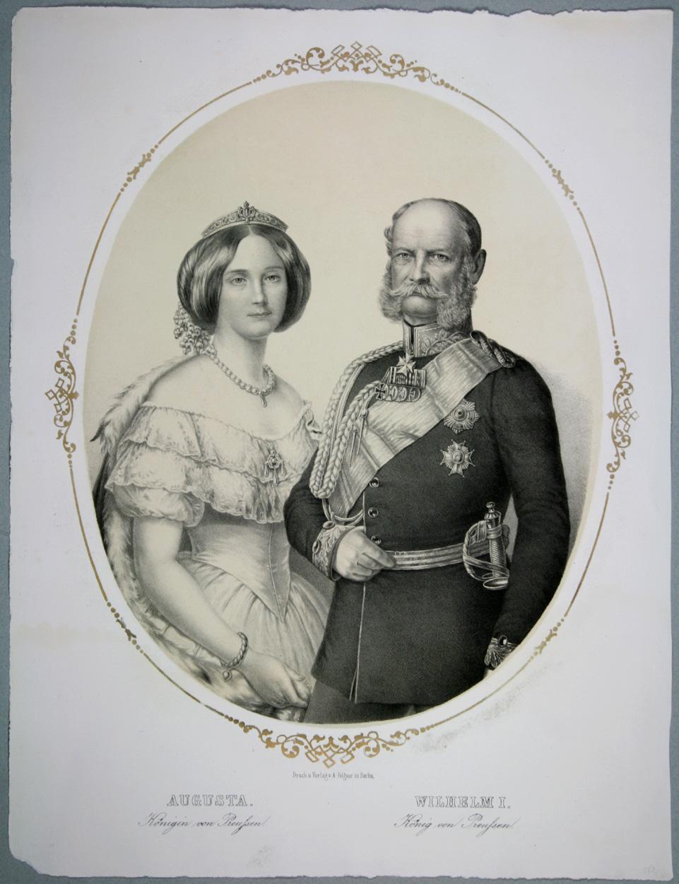 Augusta und Wilhelm I. von Preußen