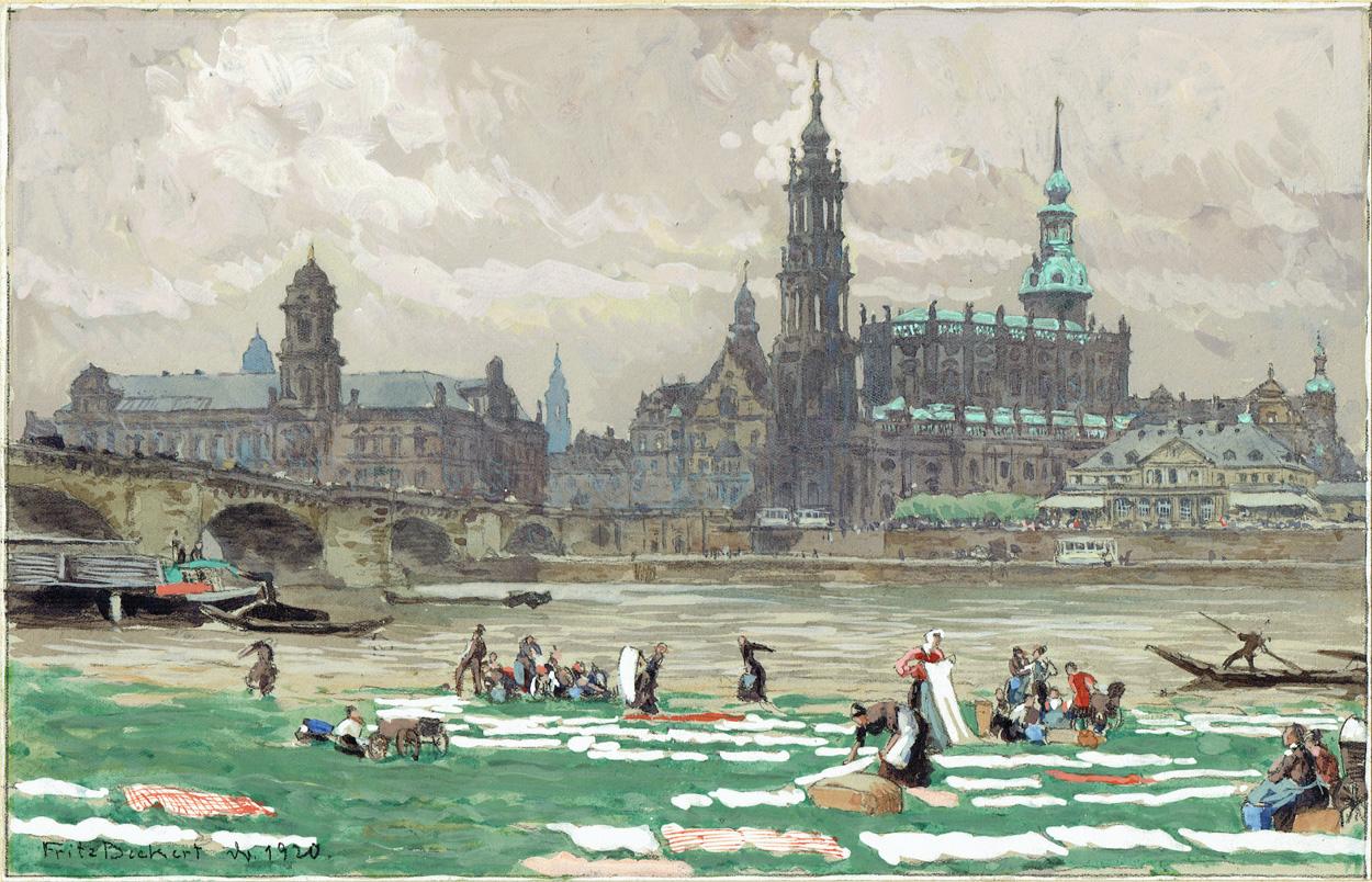 Fritz Beckert, Dresden 1920