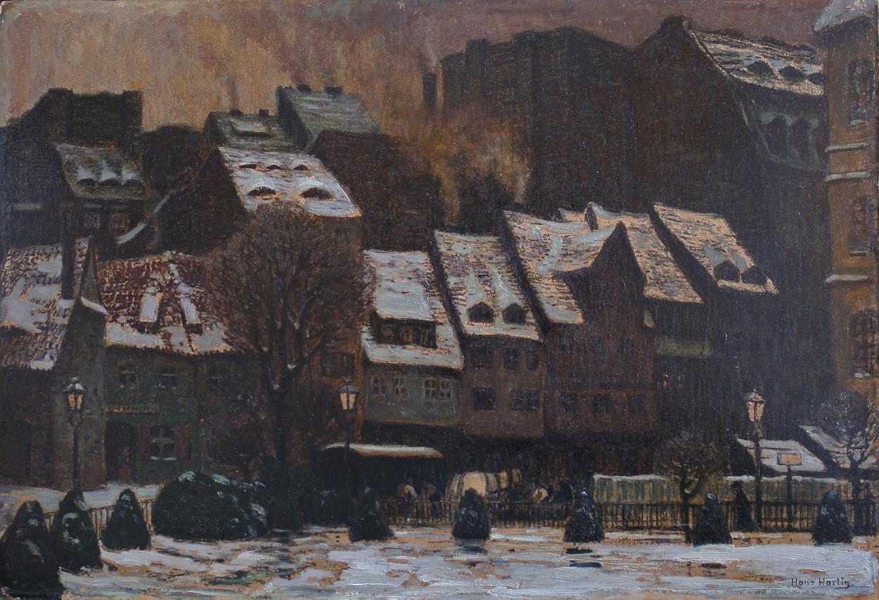Hans Hartig, Salzgasse Dresden
