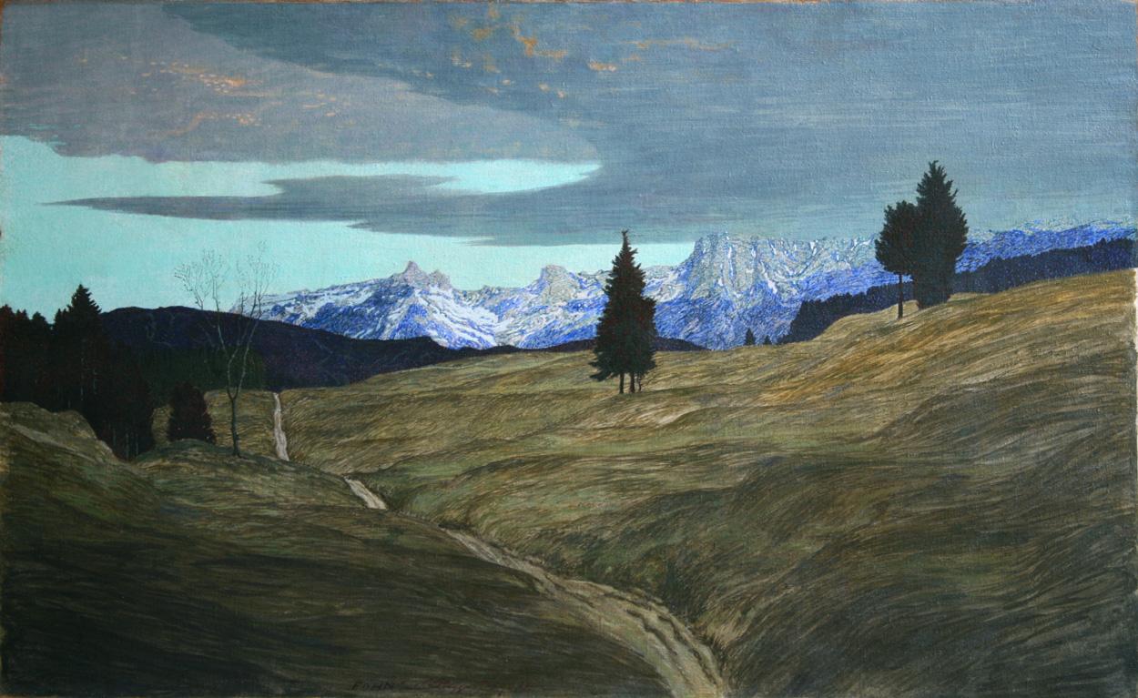 Edmund Steppes, Berglandschaft