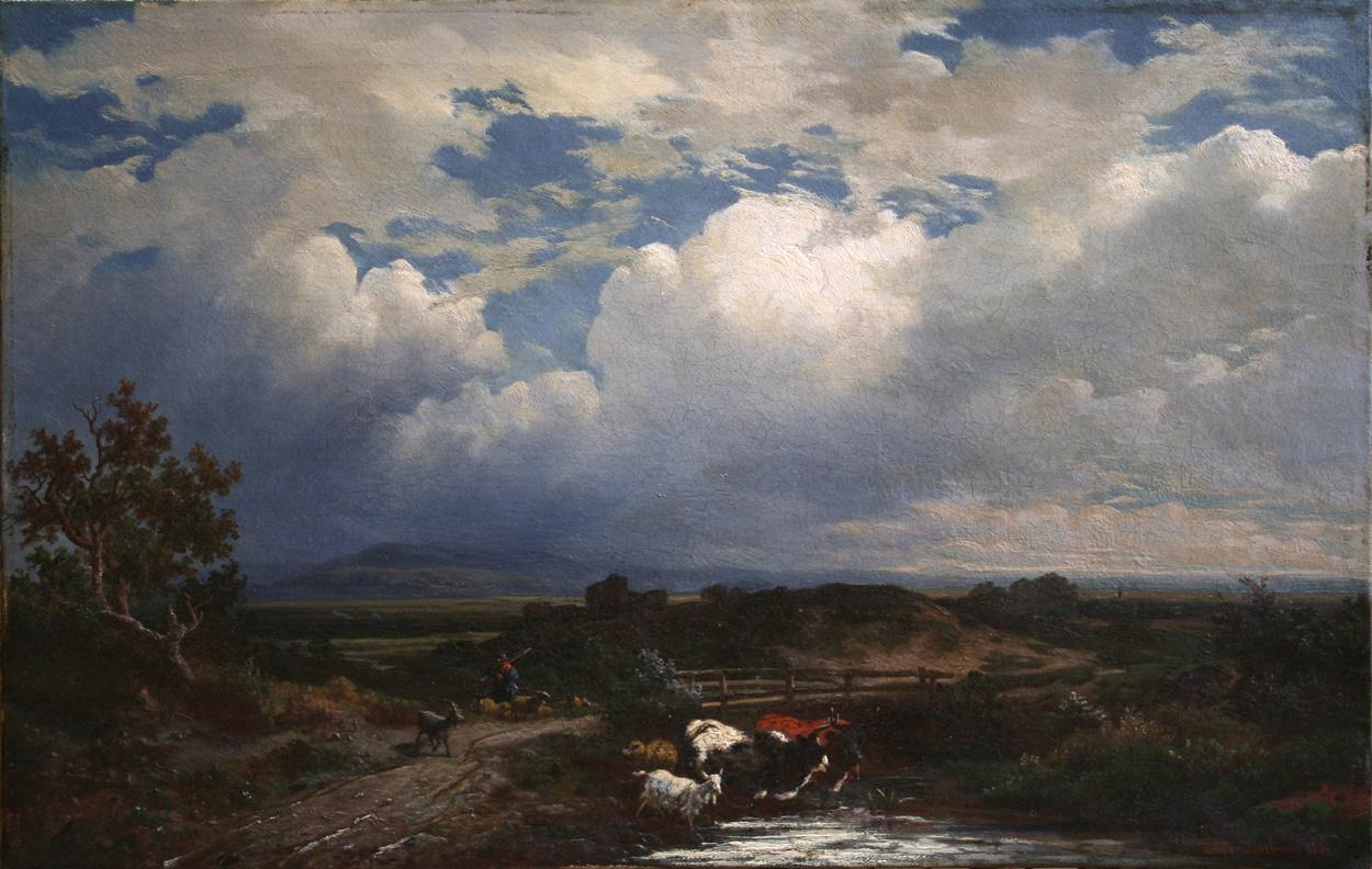 Wilhelm Brandenburg, Weite Gebirgslandschaft