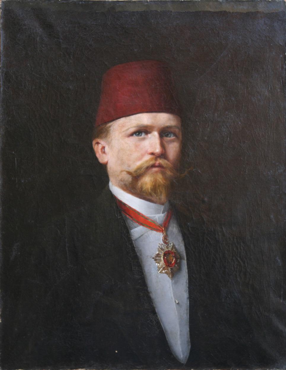 Osmane mit Mecidiye-Orden 3. Klasse