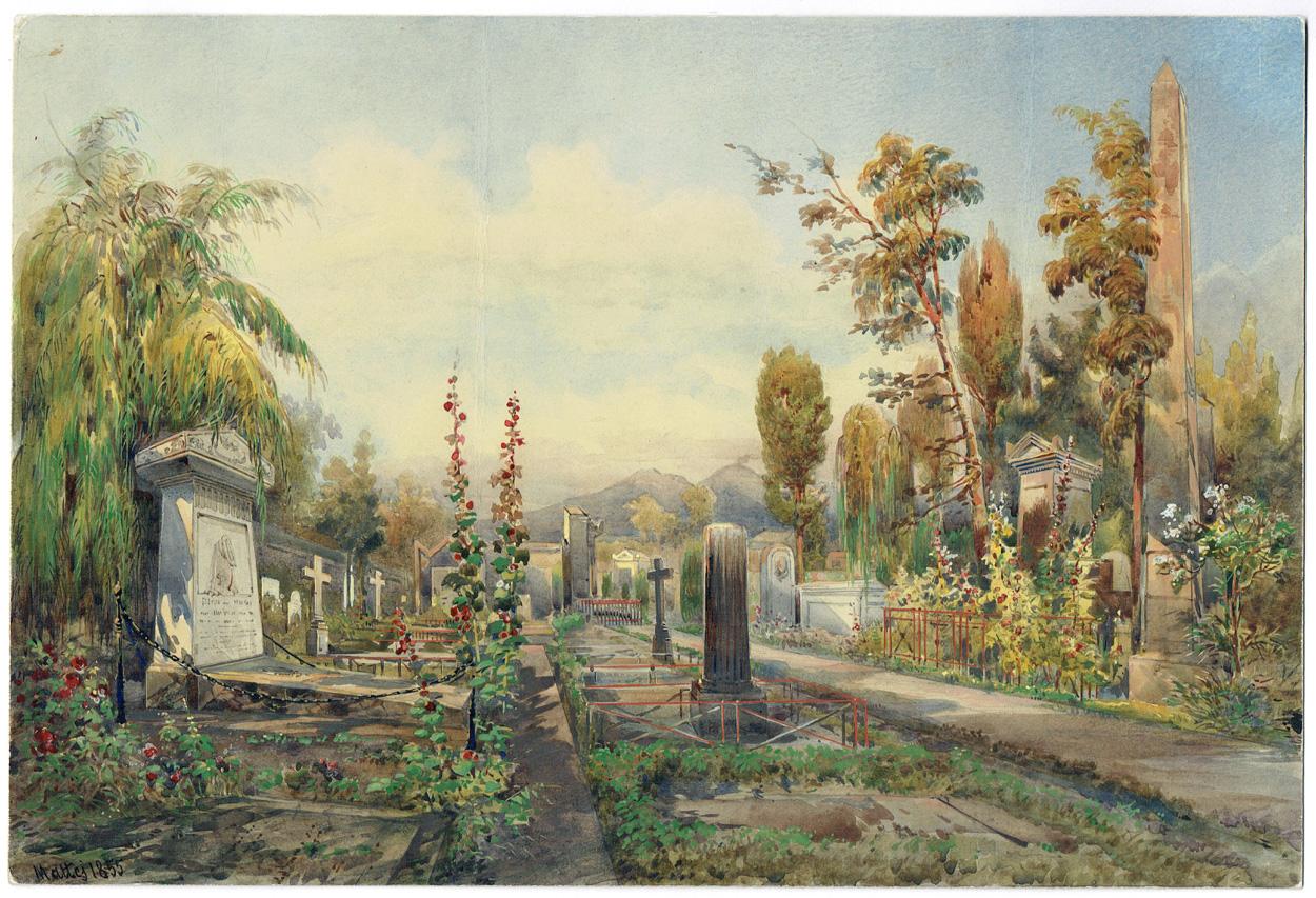 Pasquale, Mattei, Friedhof bei Neapel