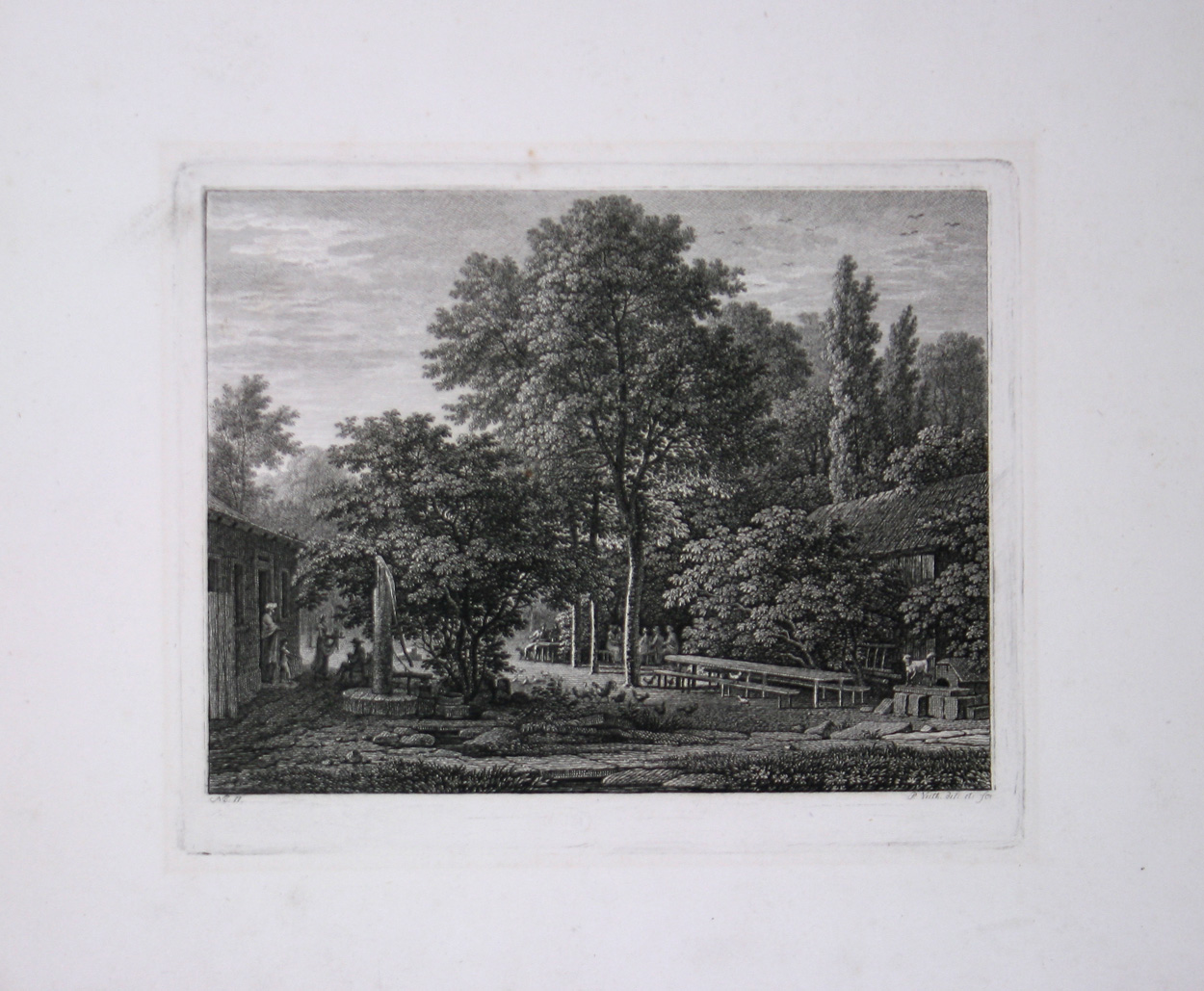 No. 11 - Partie im grossen Garten bei Dresden.