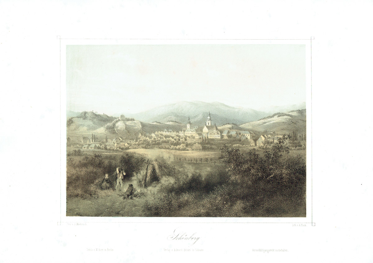 Schönberg, Böhmen