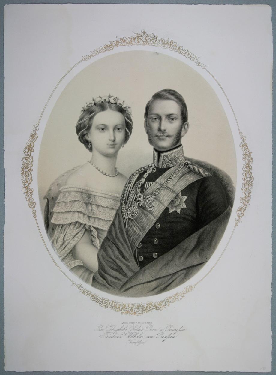 Prinz und Prinzessin Friedrich Wilhelm von Preußen