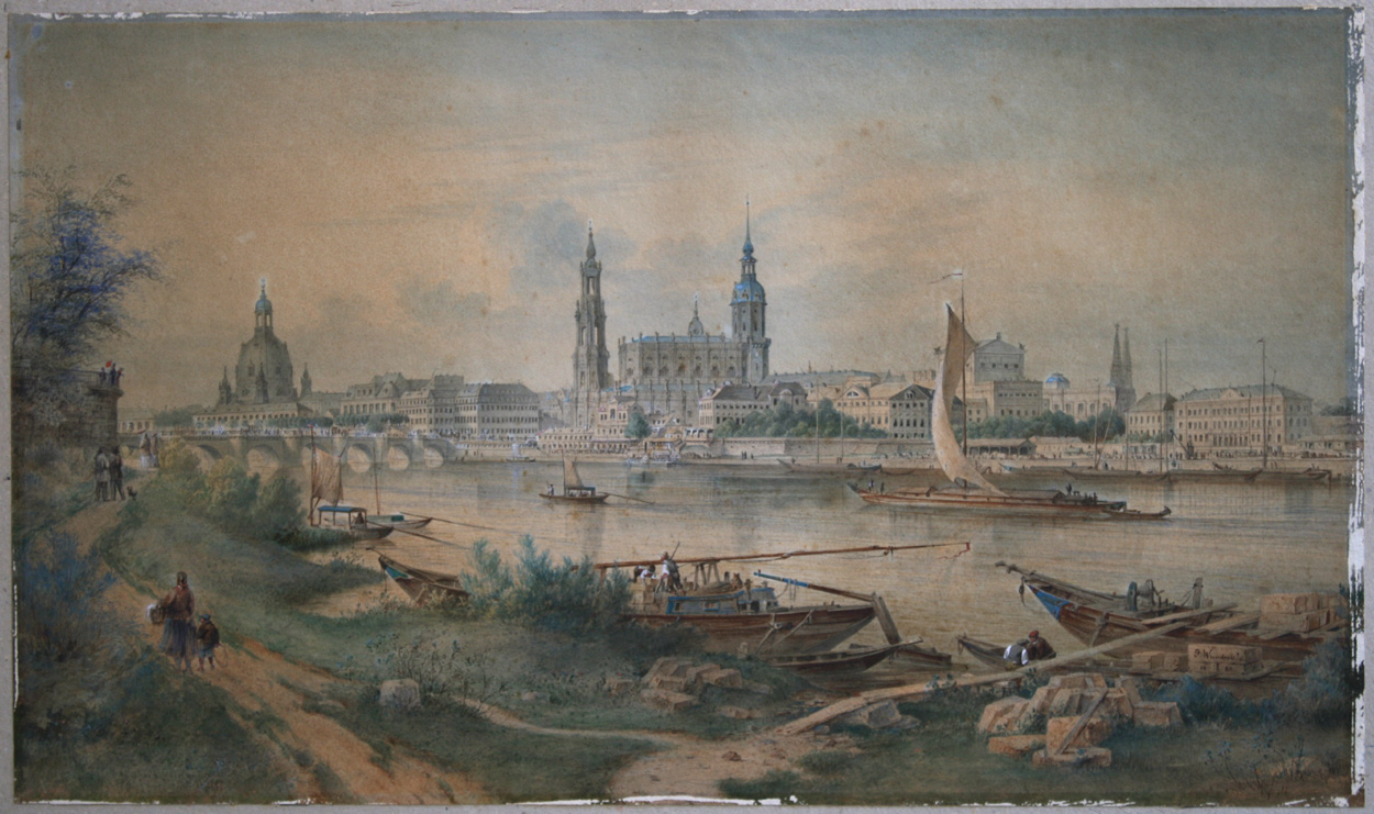 Carl Gustav Wunderlich, Dresden, 1880