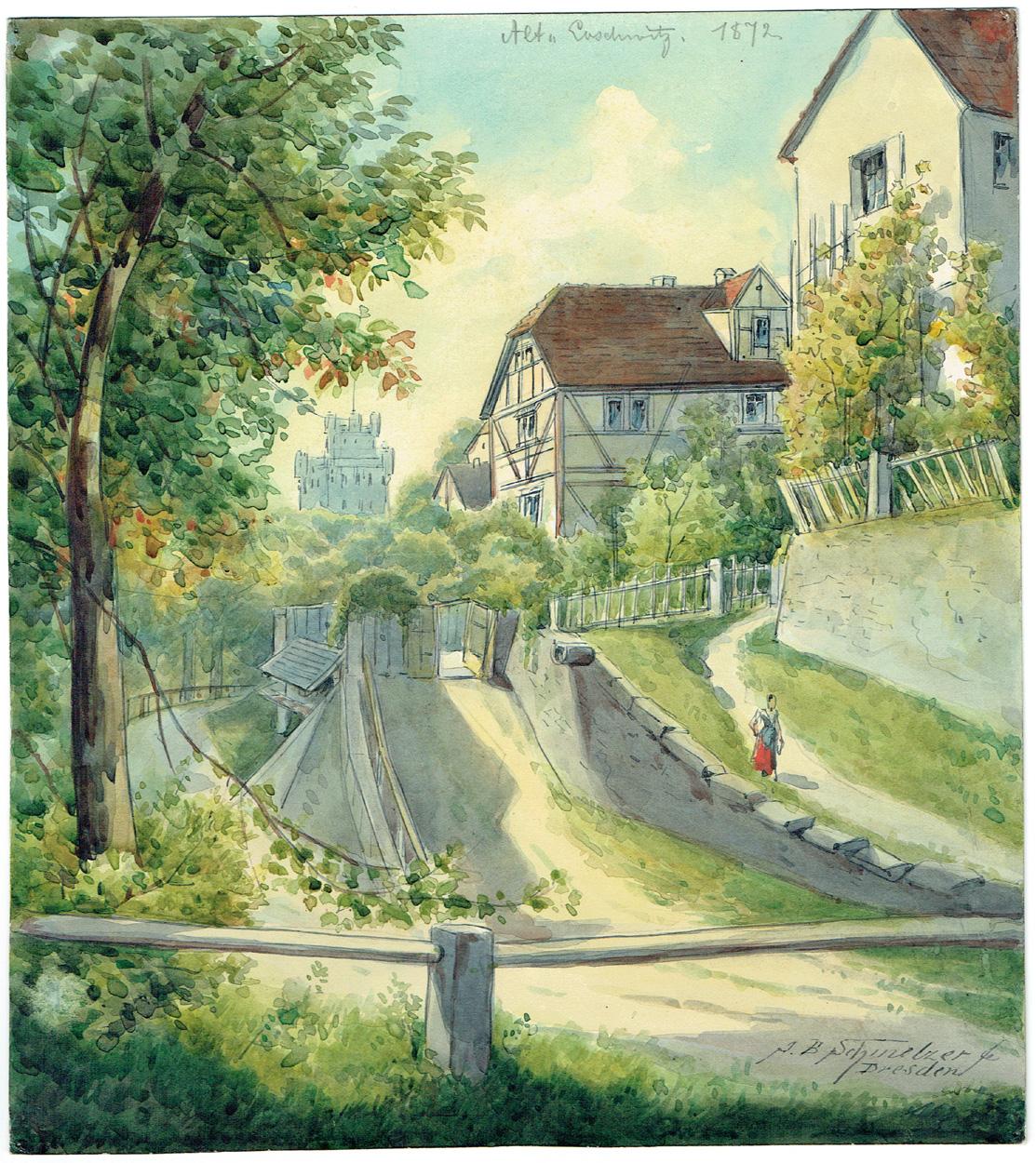 Johann Bernhard Schmelzer, Alt-Loschwitz
