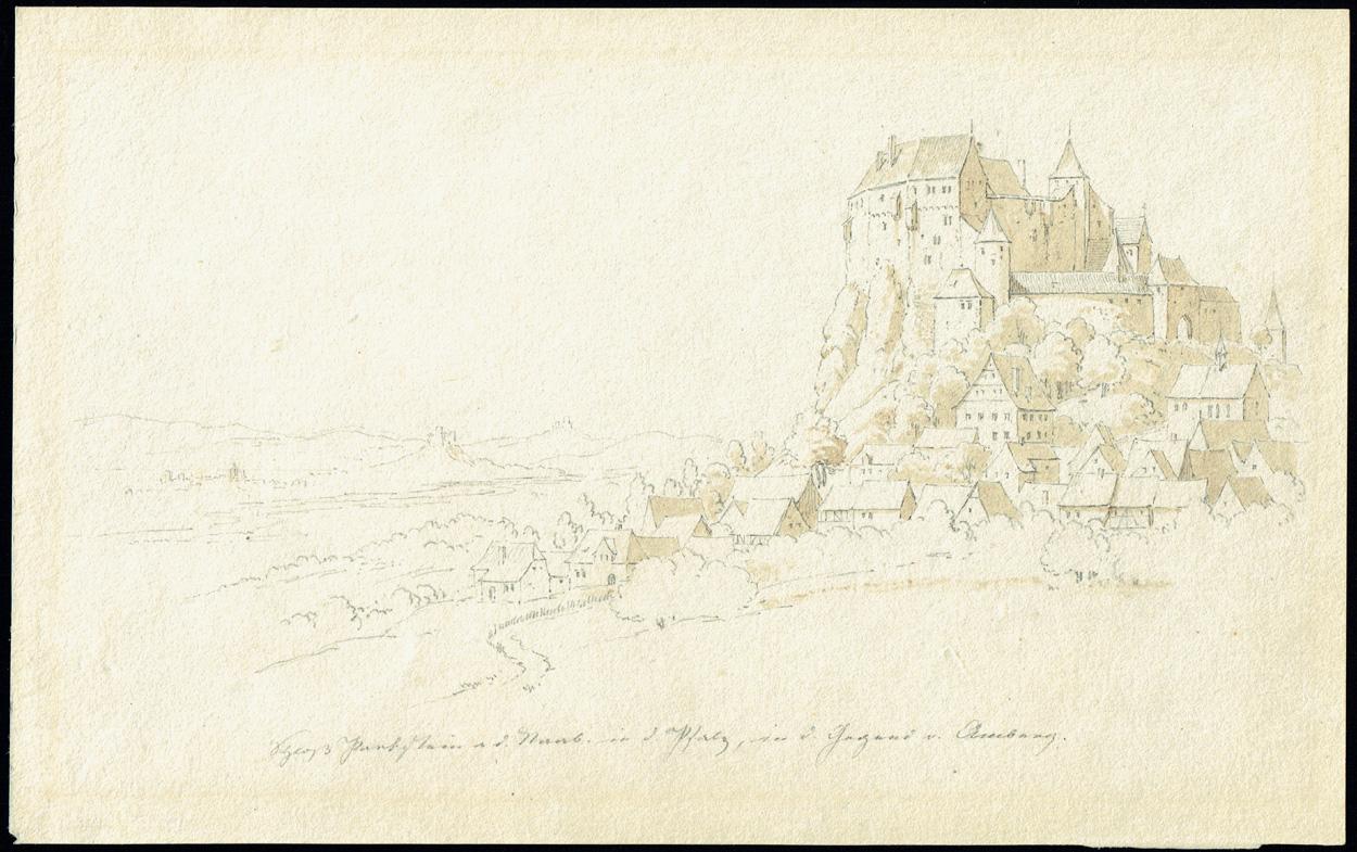 Carl Julius von Leypold, Burg Parkstein an der Naab