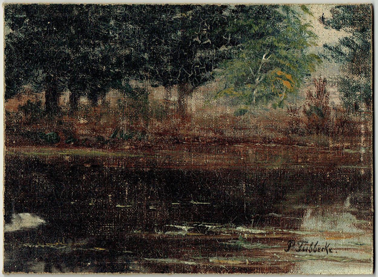 Paul Wilhelm Tübbecke, Uferlandschaft