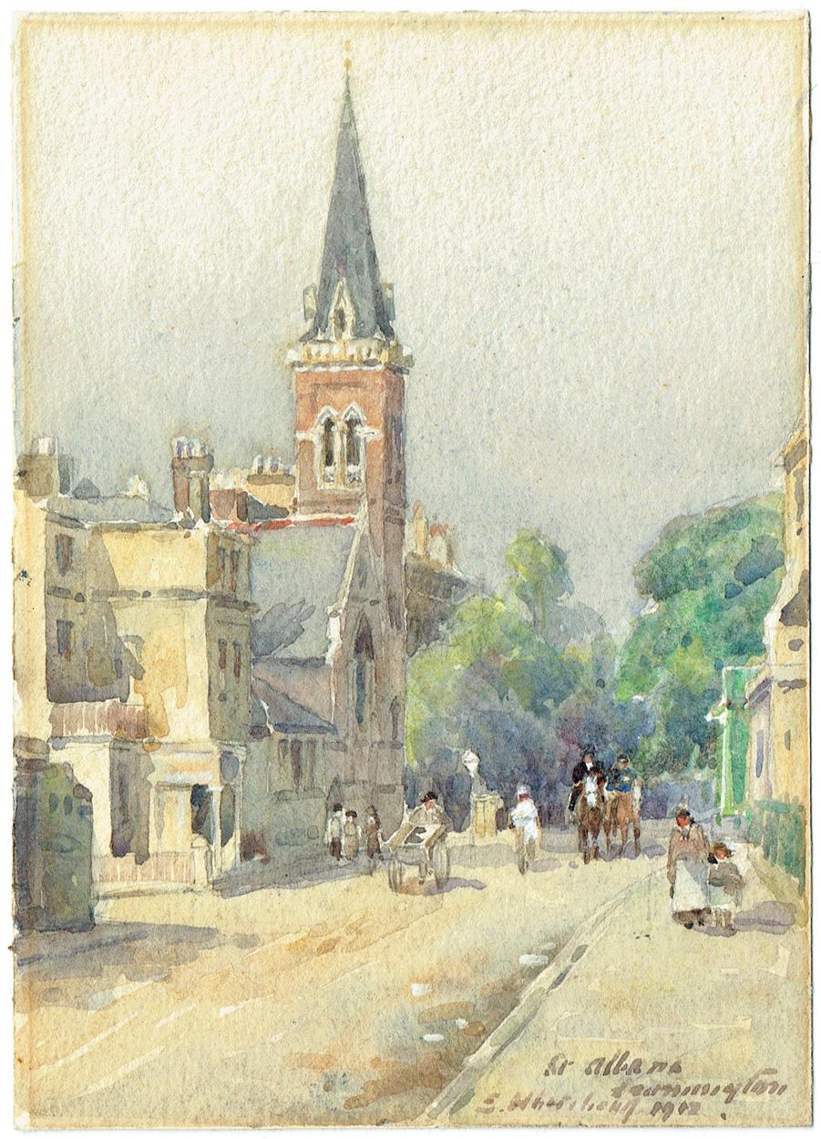 Elisabeth Whitehead, Englische Stadt