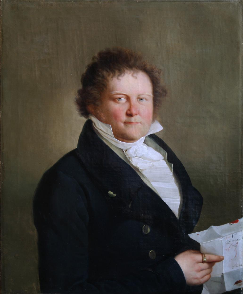 Bildnis Johann Karl Friedrich Gerhard aus Annaberg