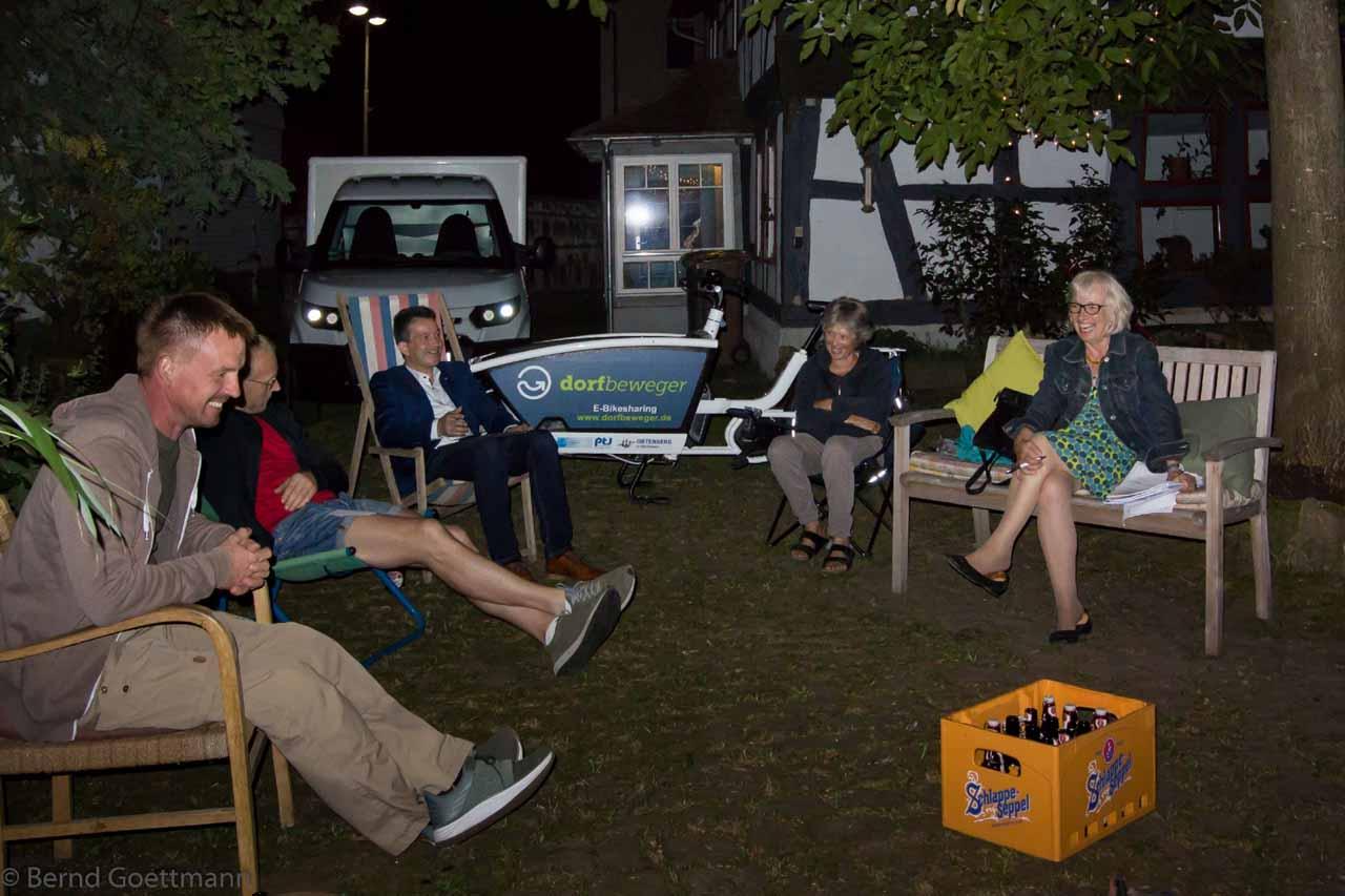 Sitzung der Projektgruppe