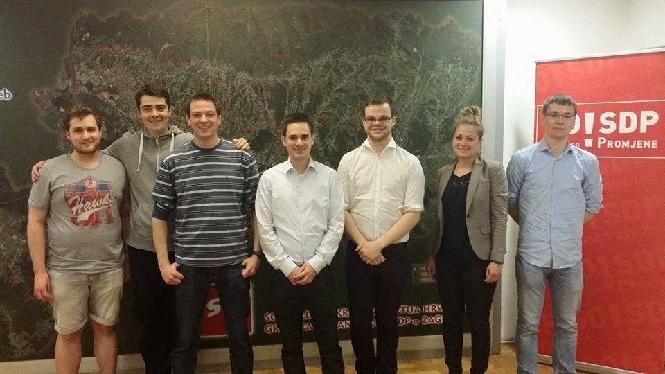Unsere Delegation beim Zagreb-Austausch