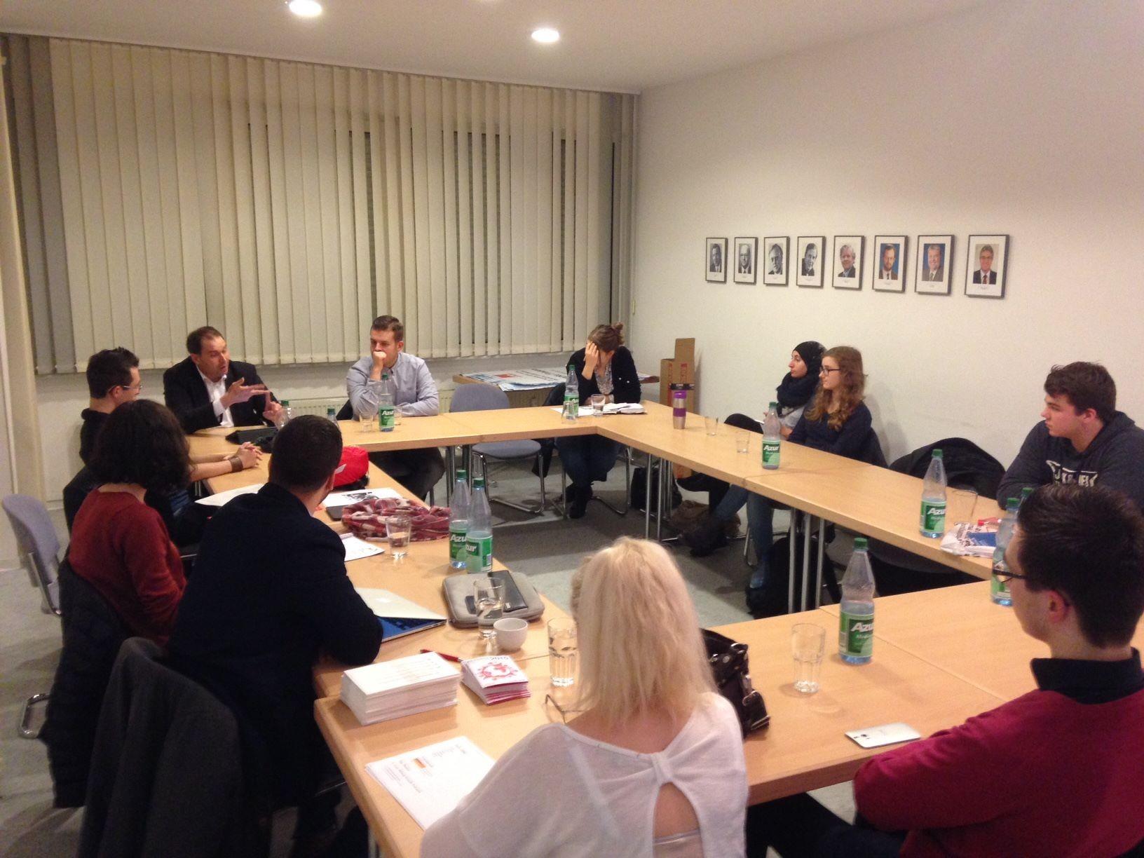 Auf unserer Mitgliederversammlung am 5. November berichtete Johannes Klomann, MdL, über den Erfolg der Bildungspolitik in Rheinland-Pfalz.