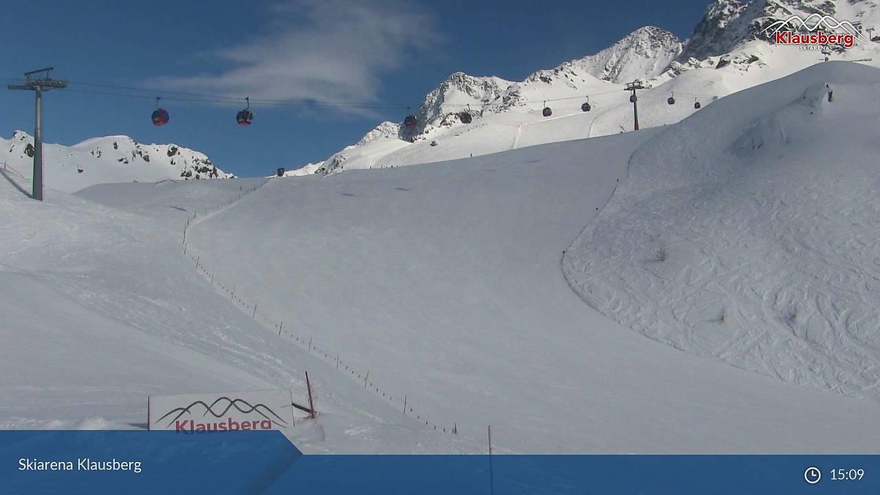Skiarena Klausberg, Blick vom Klaussee (2154 m) SE' zu Pkt 2947 und Klausnock (2772 m), 22.03.2018, 15:09
