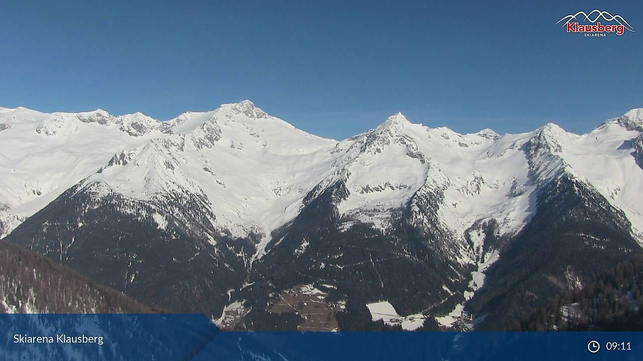 Skiarena Klausberg, Blick NW' Richtung zu Zillertalern, 22.03.1018, 09:30
