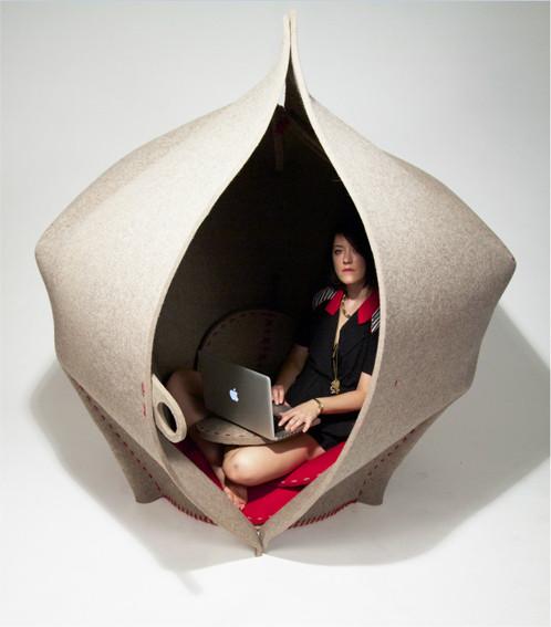 Hush, design Freyja Sewell