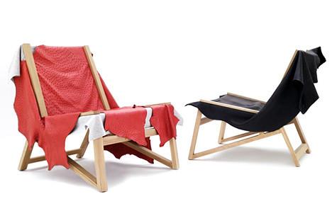 Second Skin Chair. Quinze & Milan