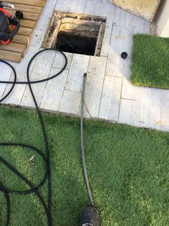 Regard canalisation intervention Lunel
