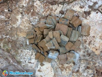 tartre calcaire dépot