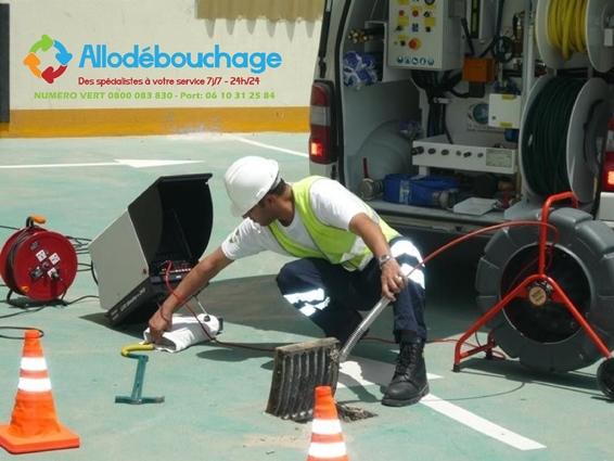 Assainissement inspection camera Marseille