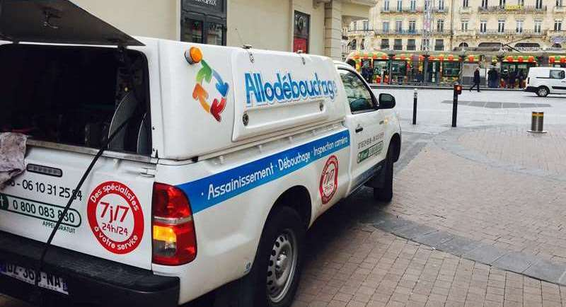 Debouchage canalisation Montpellier Comedie
