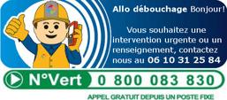 Débouchage canalisation Valenciennes urgent 06 10 31 25 84