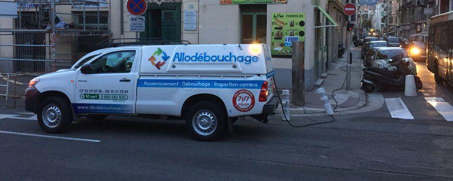 Camion Allo Débouchage intervention La-Chapelle-sur-Erdre