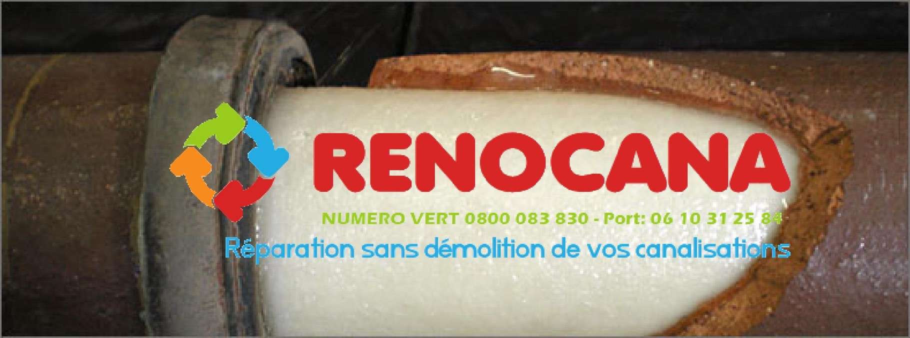 Assainissement renovation canalisation Nice