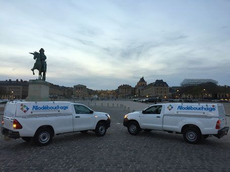 Camion hydrocureur intervention Paris