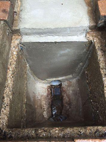 Regard canalisation intervention Carquefou