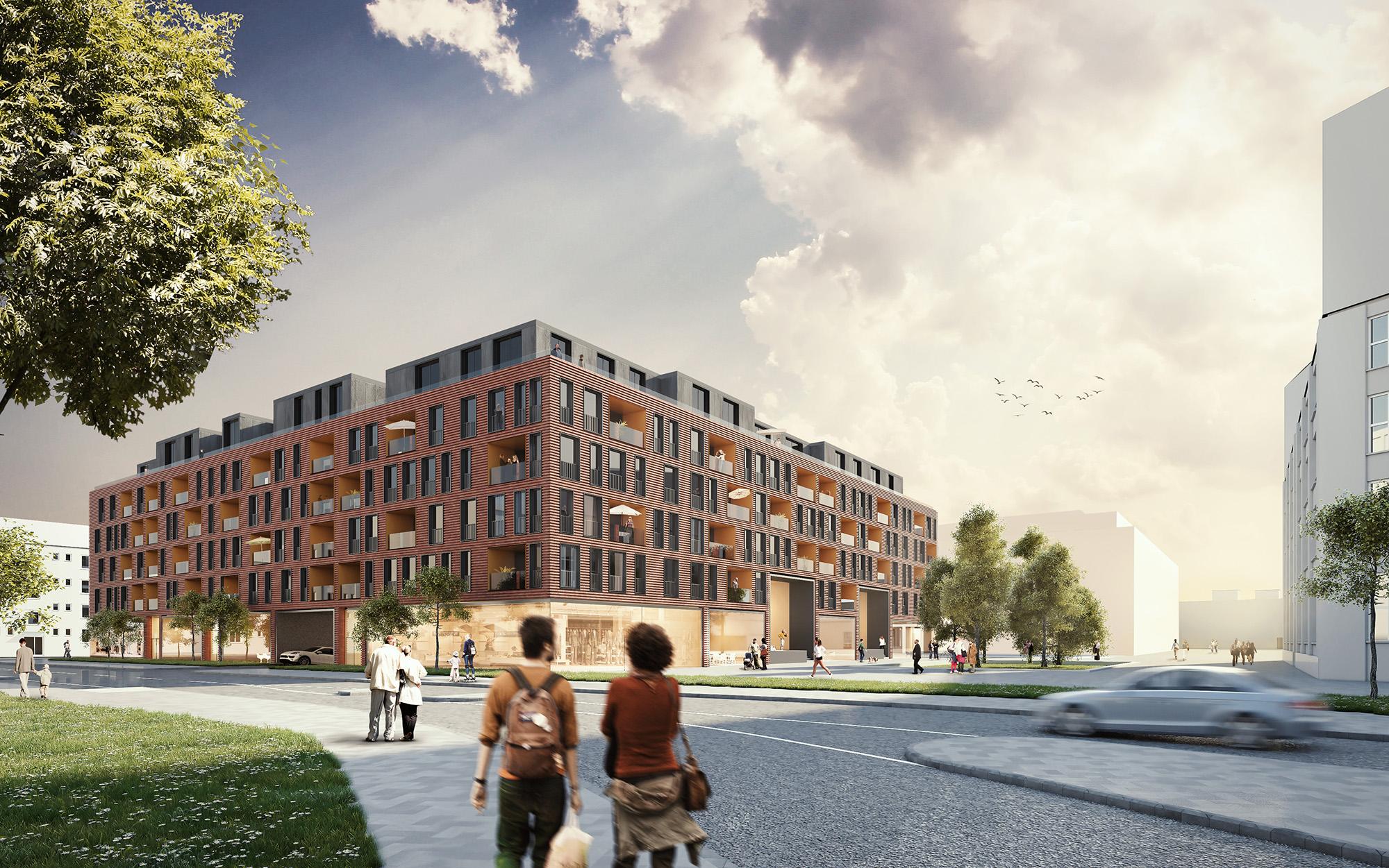 Wohnen auf dem Cologneo I. ©CG Gruppe AG, kadawittfeldarchitektur