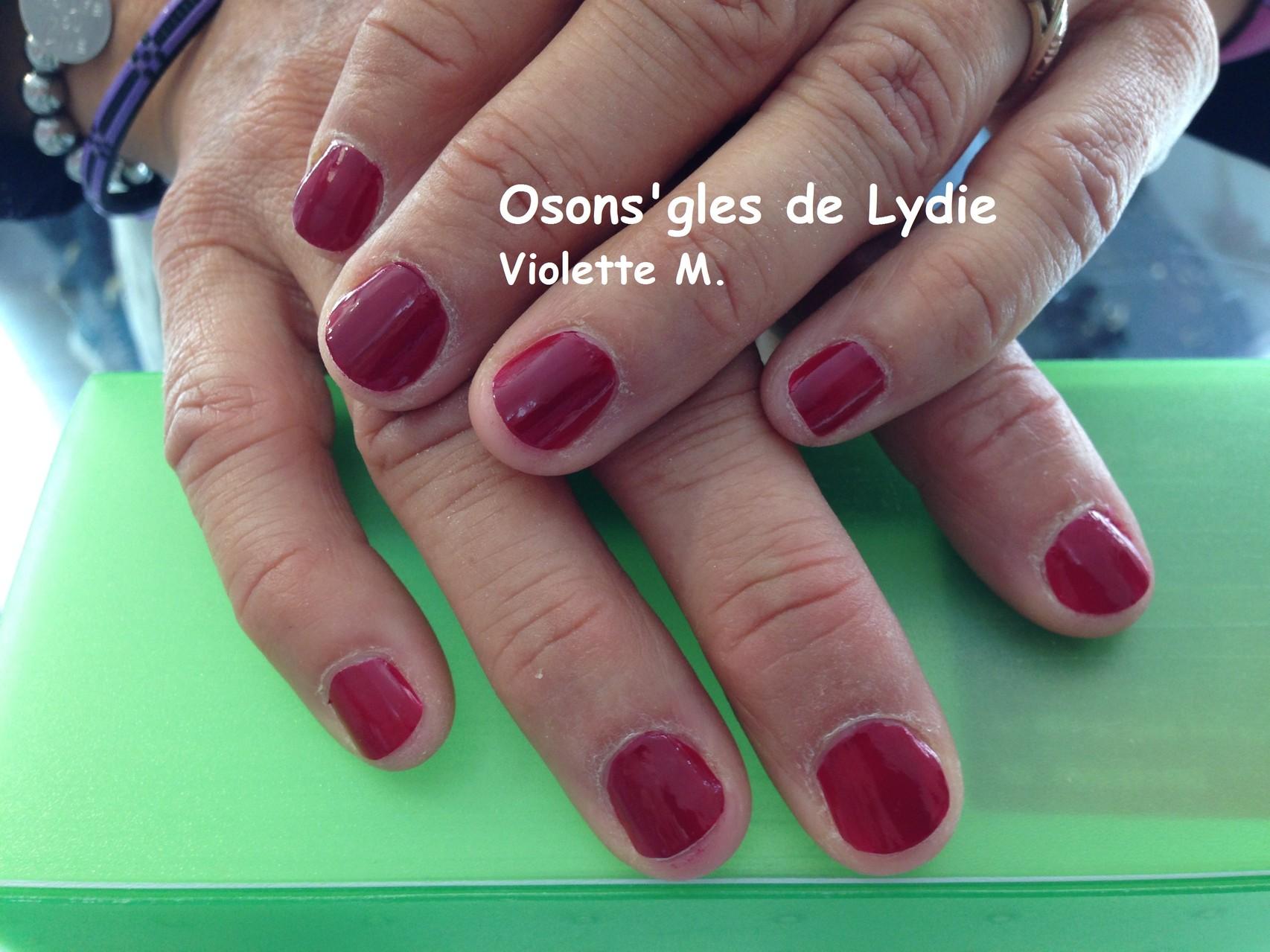 Vernis simple : Violette