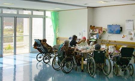 沖縄|短期入所生活介護|ホール