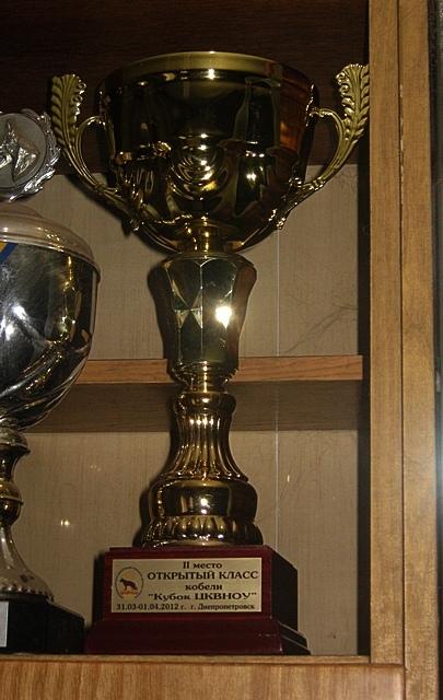Кубок Яранта фон Нордэн за 2 место в открытом классе кобелей под Margit van Dorssen